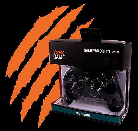 GAMEPAD ORIGIN BLUETOOTH PARA PC E ANDROID OEX GAME GD100