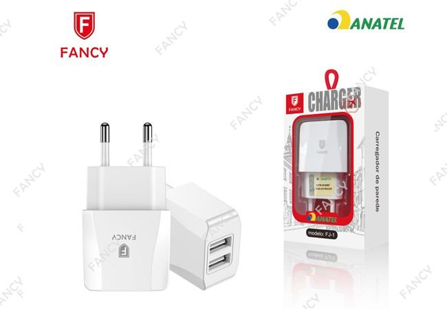 FONTE 2.1 COM 2 USB FANCY FJ-1