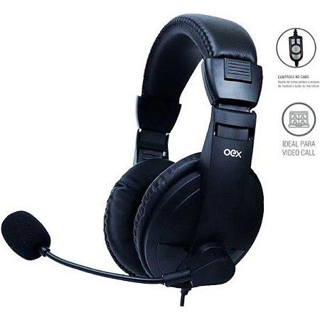 HEADSET CALL PRO PRETO USB HS102