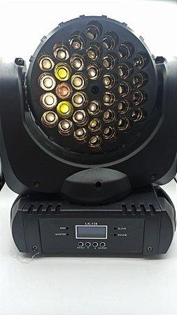 MINI MOVING HEAD BEAM LIGHT 36 LED 120W LUATEK LK-136