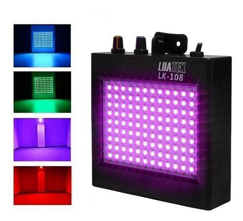 STROBO 108 LED 18W RGB LUATEK LK-108