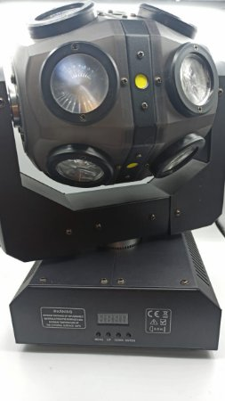 DOUBLE BEAM LED MOVING HEAD LIGHT 12 LED  LUATEK LK-113