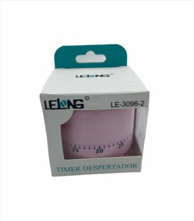 TIMER-DESPERTADOR ATE 60MIN LELONG LE-3096-2