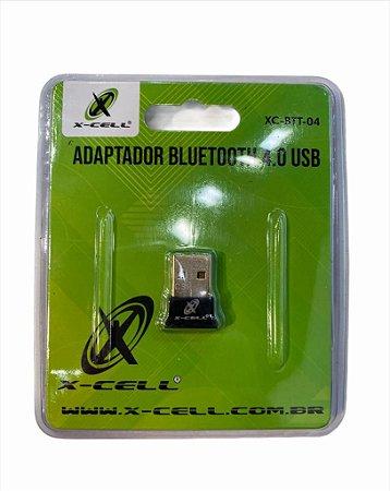 ADAPTADOR BLUETOOTH 4.0 USB X-CELL XC-BTT-04
