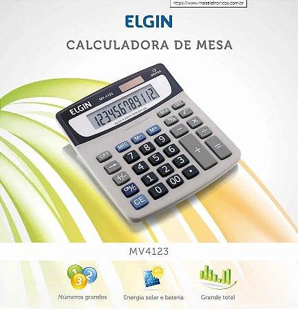 CALCULADORA DE MESA 12 DIGITOS ELGIN MV4123