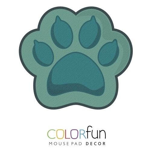 MOUSEPAD COLORFUN CAT PAW RELIZA