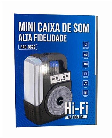 CAIXA DE SOM INOVA RAD-8622