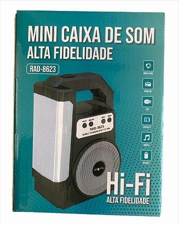 CAIXA DE SOM INOVA RAD-8623