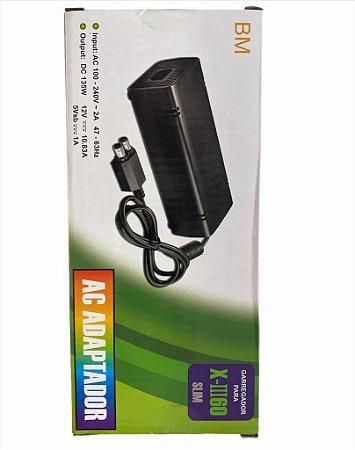 FONTE DE XBOX 360 COMPATIVEL COM X360 SLIM BIVOLT BMAX BM520
