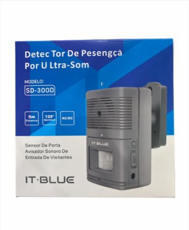 DETECTOR DE PRESENÇA POR ULTRA-SOM IT BLUE SD-300D