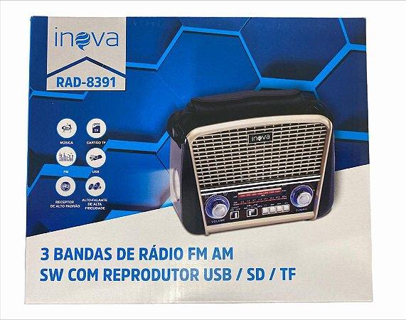 CAIXA DE SOM INOVA RAD-8391
