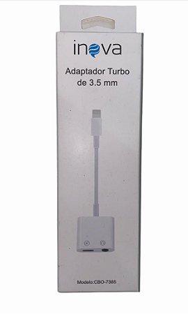 ADAPTADOR LIGHTNING PARA P2 E CARREGADOR TYPE-C INOVA CBO-7385