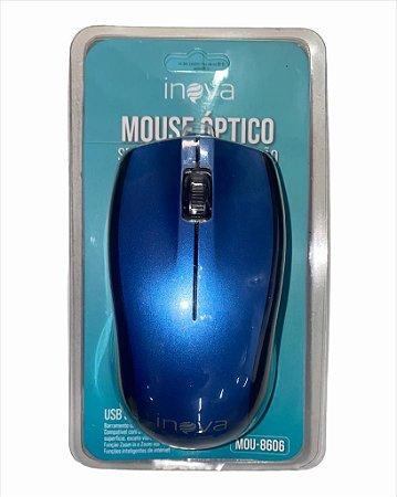 MOUSE COM FIO USB 3.0 INOVA MOU-8606