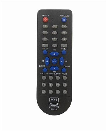 CR C 01223 CONTROLE REMOTO INOVOX DVD RC-110 MXT