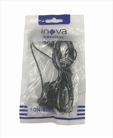 FONE DE OUVIDO COM MICROFONE INOVA FON-8607