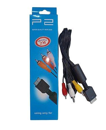 CABO PLAYSTATION PS2 2 METROS SUPER QUALITY Y337011