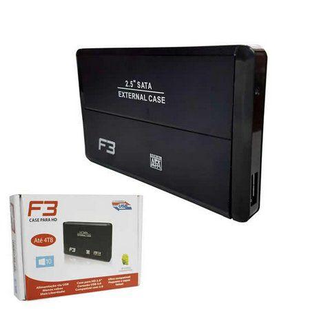 CASE PARA HD EXTERNO USB 2.0 2,5 SATA CS-U2