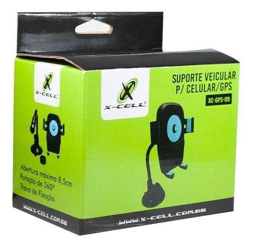 SUPORTE PLASTICO P/ GPS MOD.XC-GPS-09 X-CELL