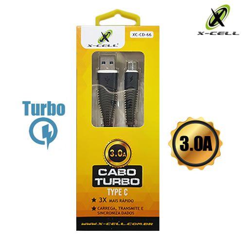 CABO DE DADOS USB TYPE C 3.0A X-CELL XC-CD-66