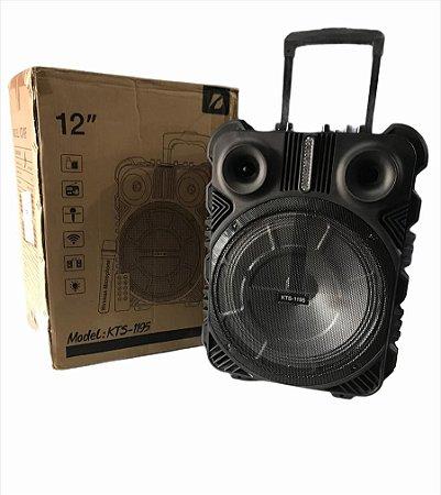 MINI CAIXA DE SOM PORTATIL 30W + 10W TWITTER KTS-1195 X-CELL