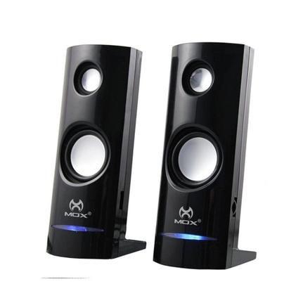CAIXA DE SOM PC SPEAKER MOX MO-CS88 PRETO