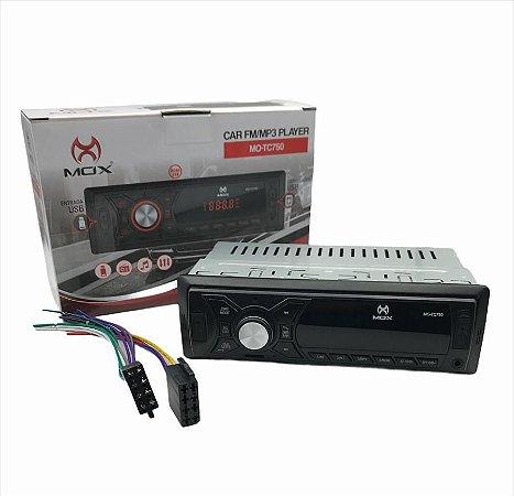 SOM P/ CARRO MOX MO-TC750