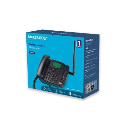 TELEFONE CELULAR RURAL DE MESA 5 BANDAS 3G SINGLE SIM MULTILASER RE504