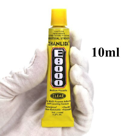 COLA MULTIUSO BLACK ZHANLIDA E8000 CLEAR 10ML