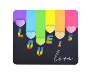 MOUSEPAD RETANGULAR CLASSIC LOVE IS LOVE RELIZA