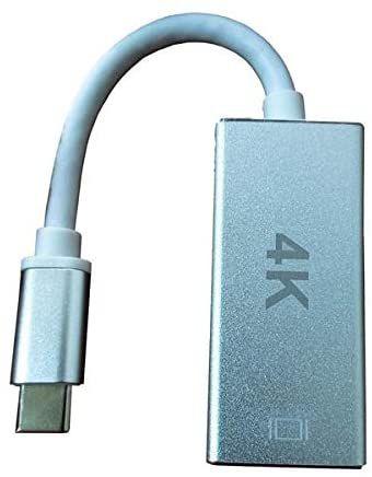 CABO ADAPTADOR USB-C 3.1 TYPE-C PARA HDMI FEMEA 4K F3 JC-TYC-HM
