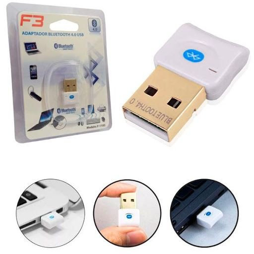ADAPTADOR BLUETOOTH 4.0 USB F3 JC-BLU01