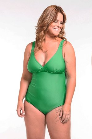 Maiô | Plus Size | 820 Green