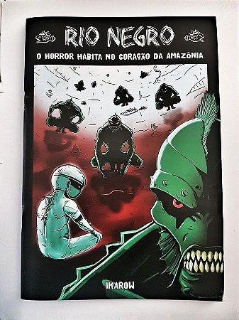 """a) Pesadelo"""":  01 revista RIO NEGRO Edição 01- """"O horror habita no coração da Amazônia"""""""" - FRETE GRÁTIS (BRASIL)"""