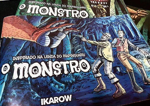 DUPLICADO - d) MONSTRO  - Os 2 lados do primeiro encontro entre um homem branco e o temido Owojo, o Mapinguari ..