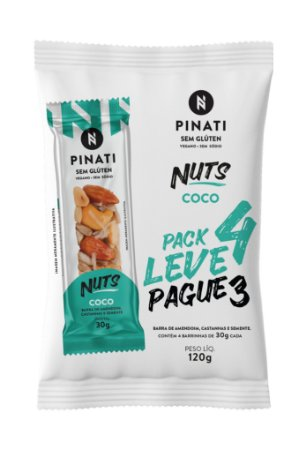 Pinati Nuts Coco - Pack Leve 4 Pague 3