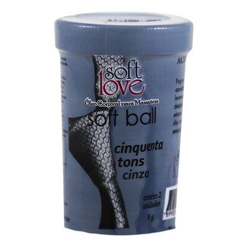 Soft Ball - 2 un. bolinhas explosivas com funções