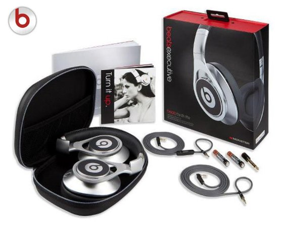 Fone Beats By Dr. Dre Executive - Prata