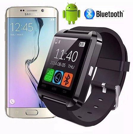 Smartwatch U8 Relógio Inteligente Bluetooth - Android / Ios