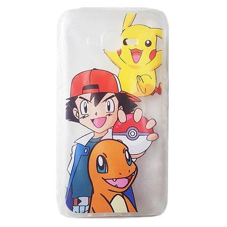 Capa Pokémon - Ash Pikachu Charmander