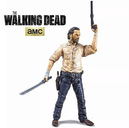 Action Figure Rick Grimes - The Walking Dead