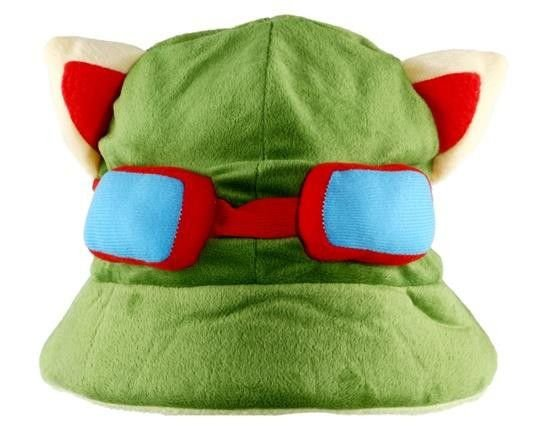 Chapéu Pelúcia Teemo - League Of Legends
