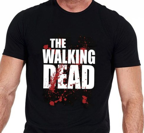 Camiseta Série The Walking Dead