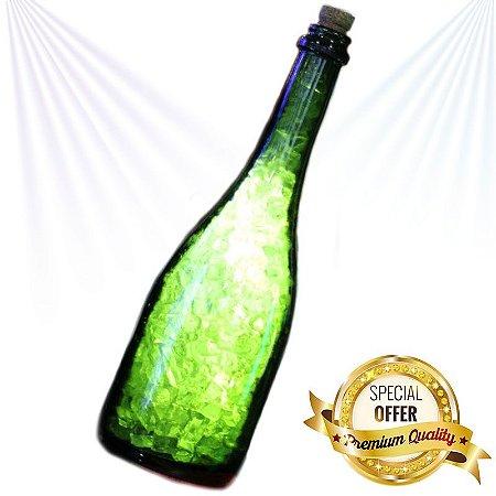 Luminária Garrafa Champagne Premium de Led