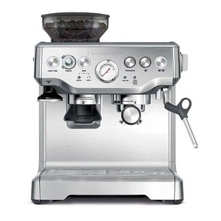 Cafeteira Elétrica com Moedor Integrado Tramontina by Breville  em Aço Inox | 220v