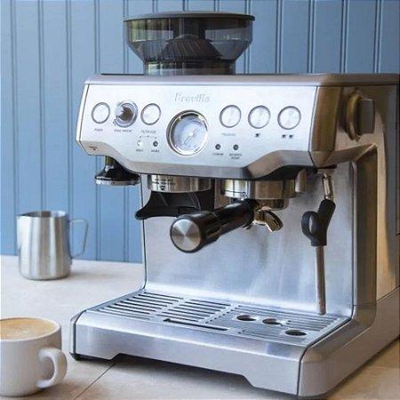 Cafeteira Elétrica com Moedor Integrado Tramontina by Breville  em Aço Inox   127v
