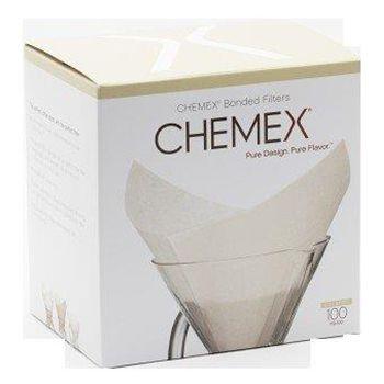 Filtro quadrado pré dobrado Chemex