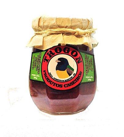 Geleia Trogon Frutas Vermelhas - Sem adição de açúcar  (250g)