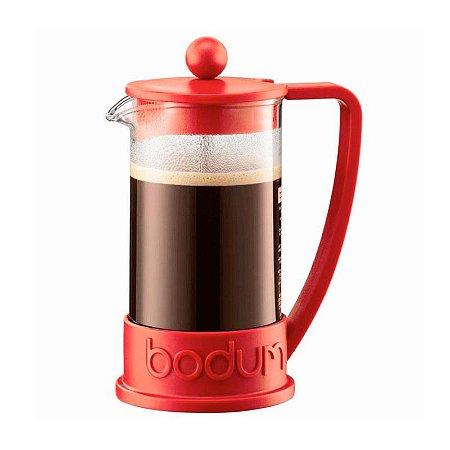 Cafeteira Prensa Francesa Bodum Vermelha 350ml