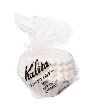 Filtro de papel branco para Kalita Wave 185