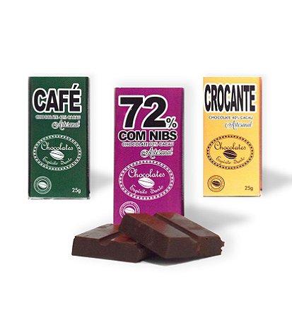 Kit 3 unidades Especiais - Chocolates Espírito Santo